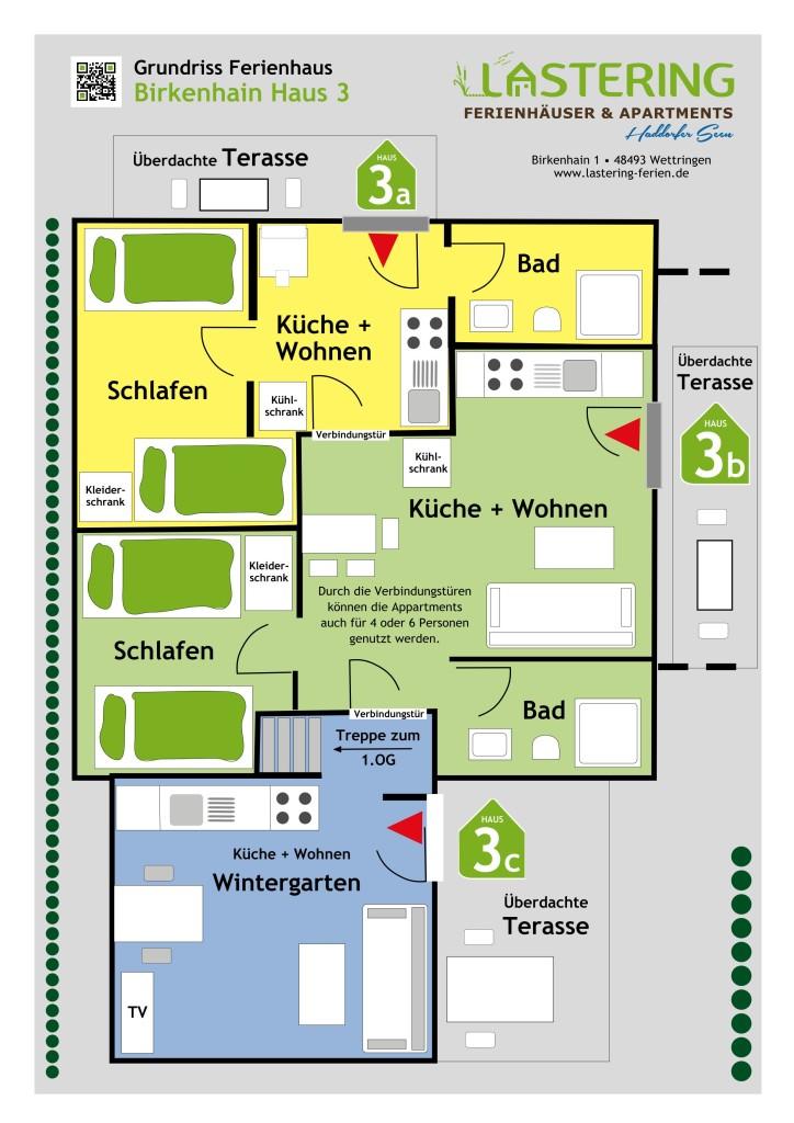Grundriss Birkenhain 1 Haus 3